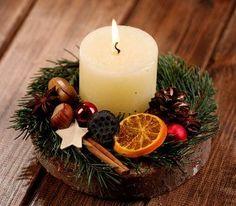 Stroik Boże Narodzenie I -  średnica ok.15 - 20 cm