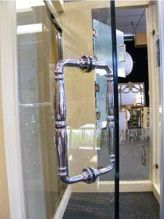 Shower Door Hardware- Elegant Victorian Style Hinge