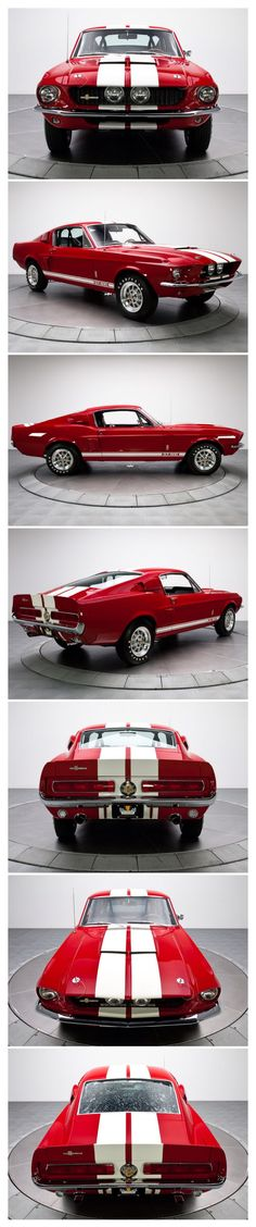 1967 Shelby GT500KR #ClassicCars #CTins #Shelby