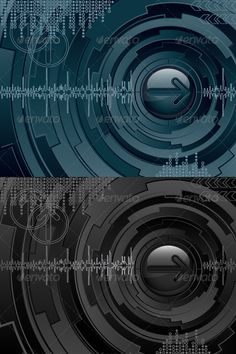 Abstract futuristic background  #GraphicRiver         Abstract futuristic background. Vector illustration.     Created: 14June11 GraphicsFilesIncluded: VectorEPS Layered: No Tags: abstract #arrow #audio #background #circle #communication #computer #concept #cyber #design #electronic #futuristic #graphic #index #indicator #informatic #information #internet #modern #music #pattern #pointer #retro #science #shape #stripe #technology #vintage #wallpaper #wave