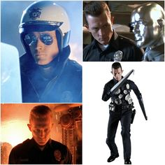 Robert Patrick as the T-1000: Terminator 2 Judgment Day Movie Figure