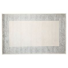 Check out this item at One Kings Lane! Frigg Rug, Gray/Silver Bedroom