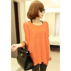 Este blusa es para un dia en casa. La blusa es muy largo y floja. A mi no me gusta porque es naranja y es muy simple.