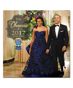 The Obamas 2017 Wall Calender