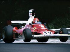 Niki Lauda, Ferrari 312T, 1975 German GP