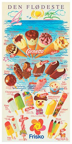 Frisko Is (ice cream) 1989