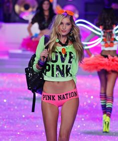 i'm pretty sure this fashion show makes every girl want to be them and makes every guy want to be with them.
