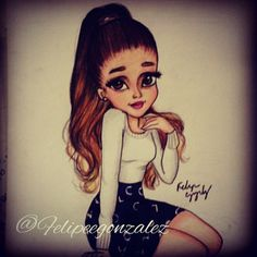 Ariana Grande fan art x