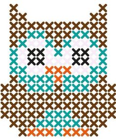 Thrilling Designing Your Own Cross Stitch Embroidery Patterns Ideas. Exhilarating Designing Your Own Cross Stitch Embroidery Patterns Ideas. Owl Patterns, Beading Patterns, Embroidery Patterns, Easy Patterns, Easy Cross Stitch Patterns, Color Patterns, Cross Patterns, Motifs Perler, Perler Patterns