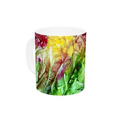 "Rosie Brown ""Kaleidoscope"" Ceramic Coffee Mug"