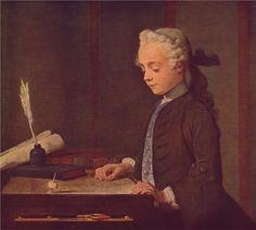 Boy with a Top, 1735  Jean-Baptiste-Simeon Chardin