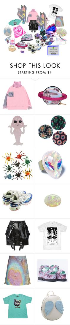 """beepboop  ✮ ✯~~☾ ☮☯ ❀✿ ~~"" by sourscream ❤ liked on Polyvore featuring Chicnova Fashion, adidas, Jeremy Scott, Carven, women's clothing, women, female, woman, misses and juniors"