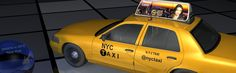 074 - TAEVision - RachelLorin - Dreams in 'where dreams are made' -Nr I Love Ny, Mechanical Design, 3d Design, Taxi, 3 D, Monster Trucks, Engineering, Dreams, Technology