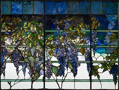 tiffany wisteria panel