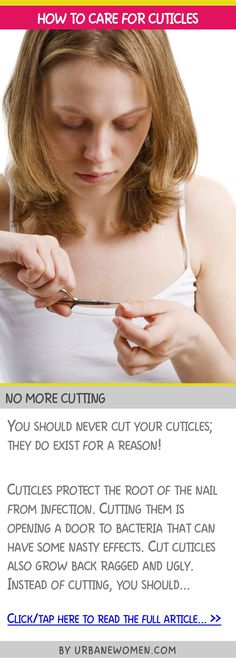 How to care for cuticles - No more cutting