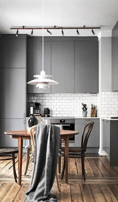 scandinavian apartment follow gravity home