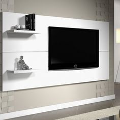 Living Room Tv Unit Designs, Decoration, Backdrops, Flat Screen, Sweet Home, The Unit, Furniture, Tops, Viero