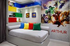 Dining Set With Bench, Cool House Designs, New Room, Home Goods, Kids Room, New Homes, How To Plan, Cool Stuff, Avengers Bedroom