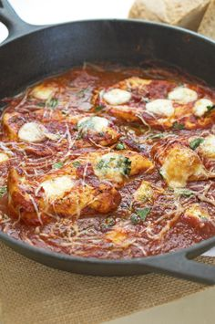 Italian Chicken Skillet | 27 Low-Stress Chicken Dinners You Can Make In One Pan
