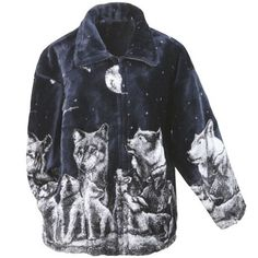 Wolf Fleece Jacket eQ7Kr1