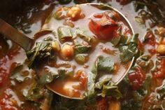 Bushala (Swiss Chard Soup)