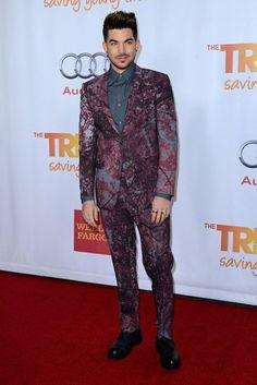 Adam Lambert at TrevorLIVE 15th Anniversary Jane Lynch Event – Glee Red Carpet Pics | OK! Magazine