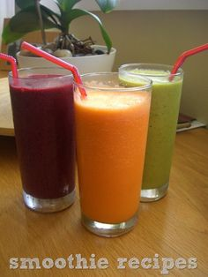 healthy smoothy recipes