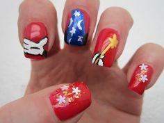Fantasia 'Mickey Mouse' Nails