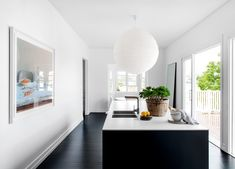 Inside Designer Sian MacPherson's New Kitchen Kitchen Interior, New Kitchen, Kitchen Dining, Minimalist Apartment, Indoor Outdoor Living, Custom Design, Home And Family, Kitchens, Interiors