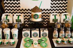 Starbucks Birthday Coffee Lover Printable by Partyperfectdesign