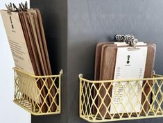 Great way to display/store menus. Dear Me, Cape Town. get more only on http://freefacebookcovers.net                                                                                                                                                      More