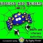 Insects and Spiders PreK by Giggling Wombat | Teachers Pay Teachers