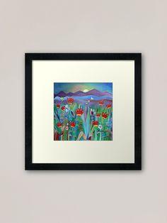 Home And Living, Framed Artwork, Art Prints, Design, Home Decor, Kiss, Sun, Wall Prints, Frame