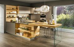 Cuisine Design - Melamine - Artwood arcos brillant. Cette cuisine ...