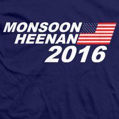 Get your Monsoon Heenan 2020 T-shirt here North Face Logo, The North Face, Wrestling Shirts, Monsoon, Politics, Tees, T Shirt, Supreme T Shirt, T Shirts