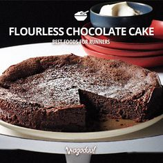 Guilt-free chocolate cake? Is that possible???  YES it is! :) Easy and quick to prepare, this amazing dessert will satisfy everyone who adores chocolate!  Find the recipe on:  http://www.realsimple.com/food-recipes/browse-all-recipes/flourless-chocolate-cake #nutrition