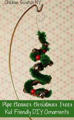 Pipe cleaners are a craft staple in our home. I purchase them at the dollar store, so I don't mind whenmy kiddos want to use a whole package to create jewelry, critters, or holiday decor. We can't wait to try some of these pipe cleaner Christmas crafts! Snowy Christmas treeswould be a beautiful addition to a Christmas village. Sparkly chainscan pull double duty as New Year's Eve decor. Afeather angelwoud make a beautiful gift for a Sunday School teacher. {Read More}