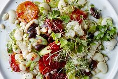 Blood Orange and Mixed Bean Salad