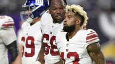 Odell Beckham Jr. Had the Most Ridiculous Quote After Loss to the Vikings