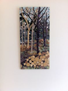 Forest harvest by Alison Phillips - love the forest effect