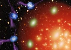 Astronomers may have solved the decades-long cosmic murder mystery of what kills most galaxies in the universe: They are strangled to death . 'What kills galaxies is one of the most challenging questions in the past 20 years,' a scientist says. Halo, Whirlpool Galaxy, Star Formation, Andromeda Galaxy, Hubble Space Telescope, Astrophysics, To Infinity And Beyond, Dark Matter, Deep Space