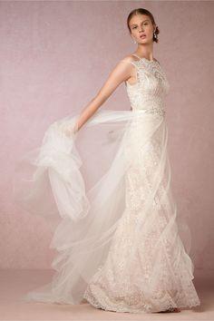 BHLDN Lorelei Gown in  Bride Wedding Dresses Embellished | BHLDN