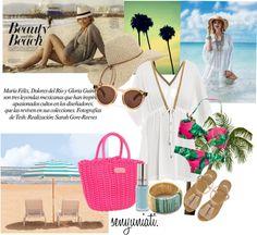 """Beauty and the Beach."" by senyuniati on Polyvore"