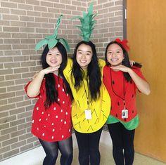 fruits Halloween costume ideas!