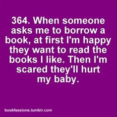 I always worry when I bring books to school for this reason.