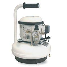 Prix promo exceptionnel !!! Compresseur lubrifié portable silencieux 40 dB(A) - cuve 6 litres - MECAFER Compresseur silencieux : 40 dB Réservoir d'appoint ...