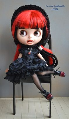 Blythe # blythes # doll # dolls #muñeca # muñecas # for sale # cute # clothes # red hair# pretty # art # blonde # adoption #
