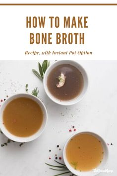 Healthy Soup Recipes, Healthy Meal Prep, Healthy Drinks, Real Food Recipes, Healthy Eating, Healthy Mind, Diet Recipes, Eating Light, Bone Broth