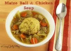 chicken soupe with m