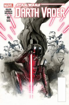 Leituras de BD/ Reading Comics: Capas: Star Wars: Darth Vader #1